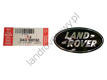 "Logo ,,Land Rover"" maskowincy chłodnicy RANGE ROVER SPORT DAG500160"